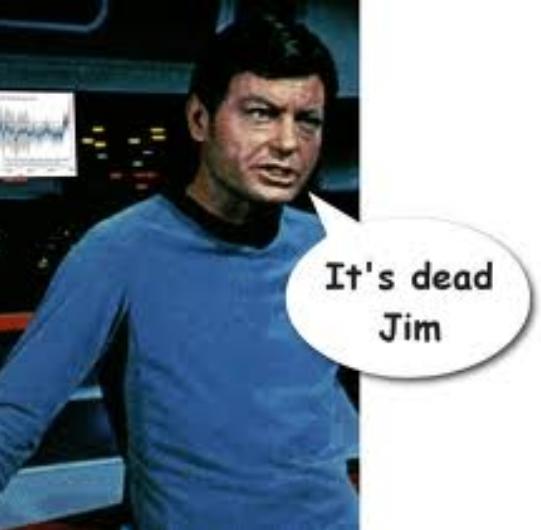It's Dead Jim